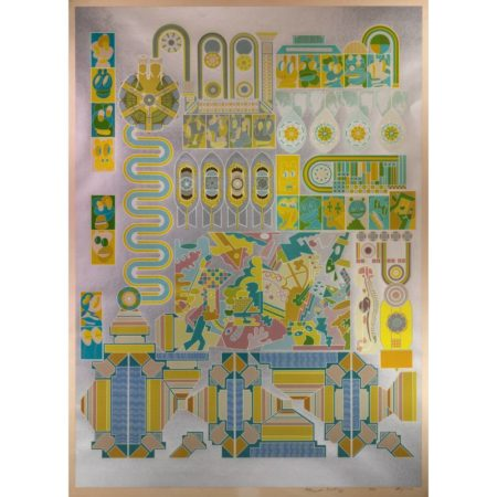 Eduardo Paolozzi-Who is afraid of Sugar Pink and Lime Green?-1971