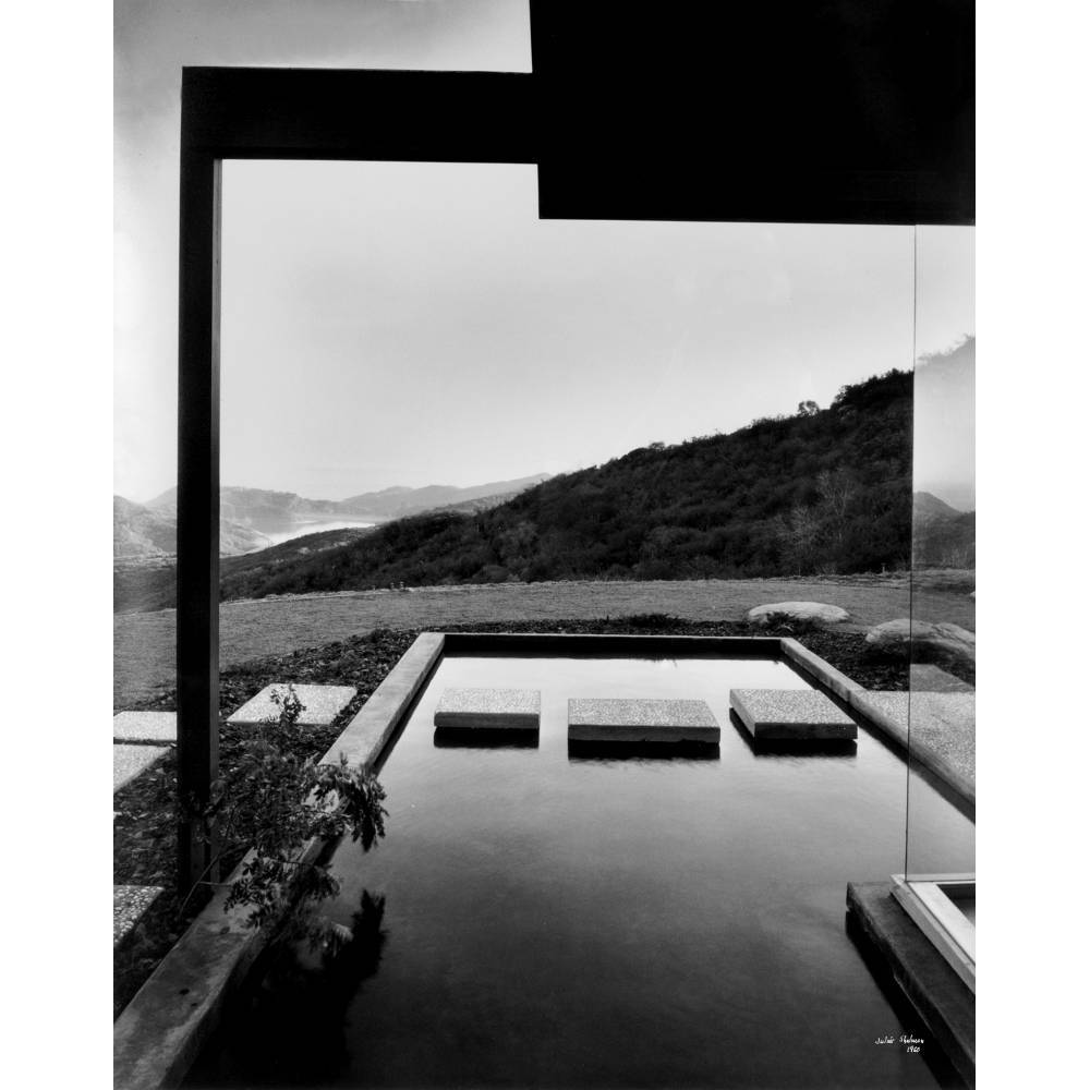 Julius Shulman-Singleton House, Los Angeles (Architect: Richard Neutra)-1960