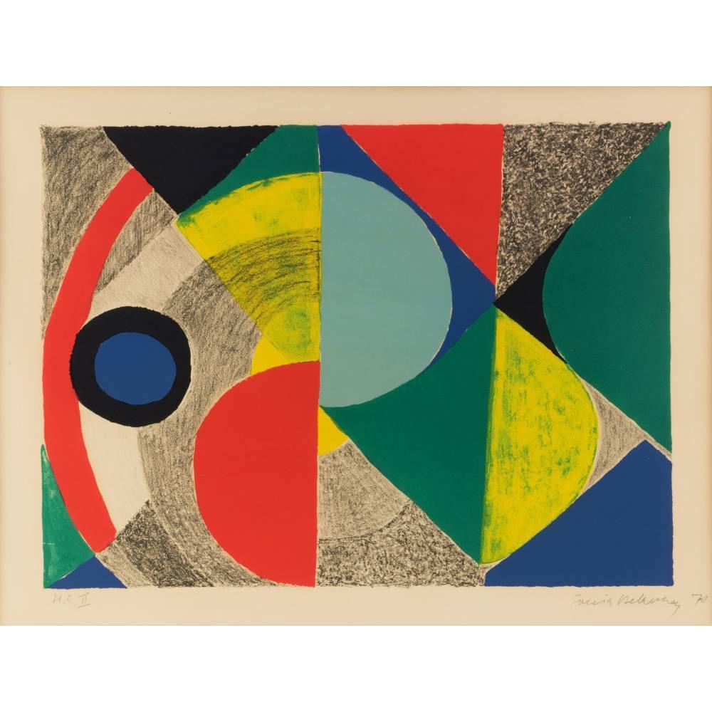 Sonia Delaunay-Horizontale-1970