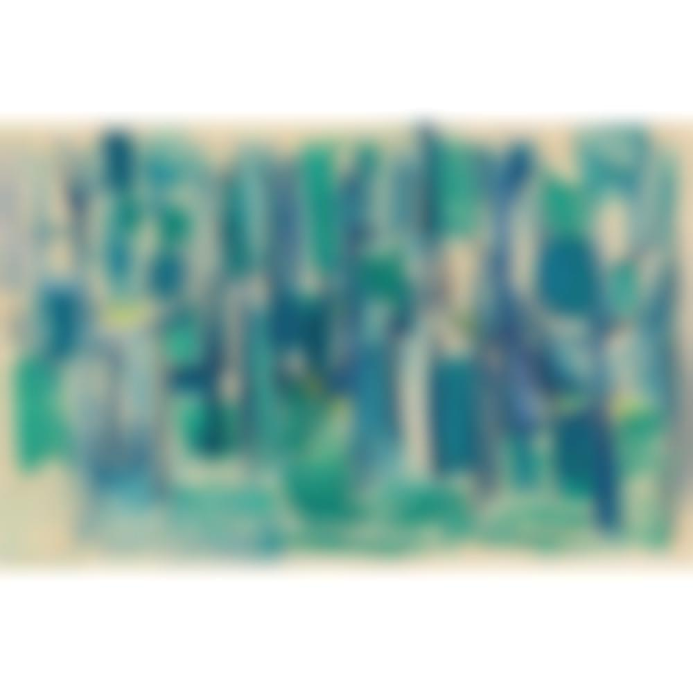 Geer Van Velde-Composition in blue, green and yellow-