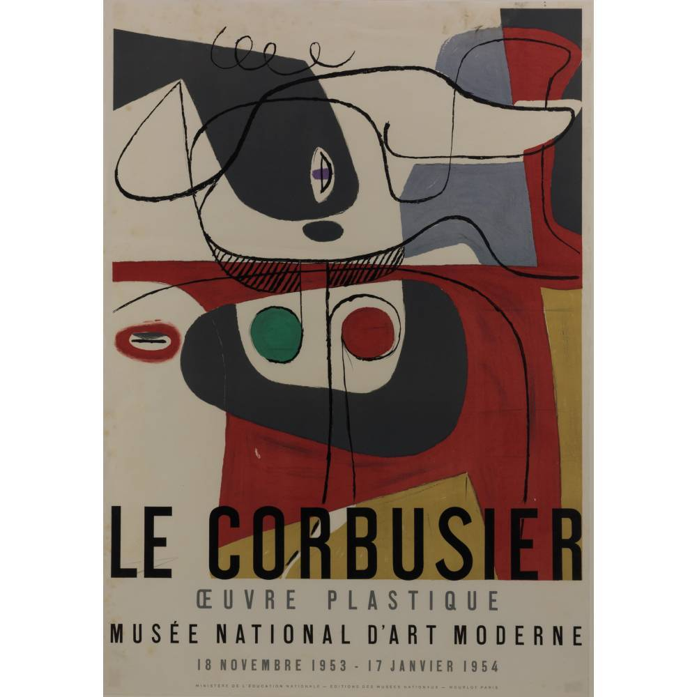 Le Corbusier-Exhibition poster-1953