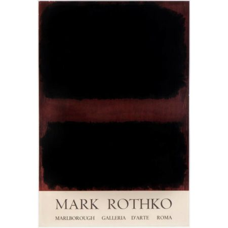 Mark Rothko-Exhibition poster-1971