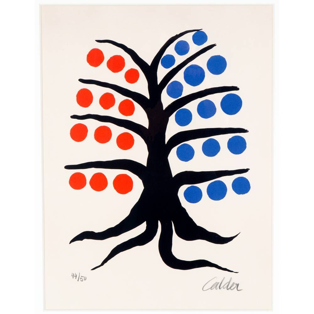 Alexander Calder-Tree-