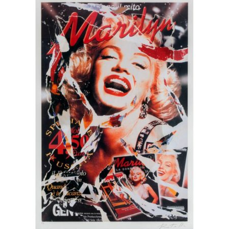 Mimmo Rotella-Omaggio a Marilyn / A tribute to Marilyn-