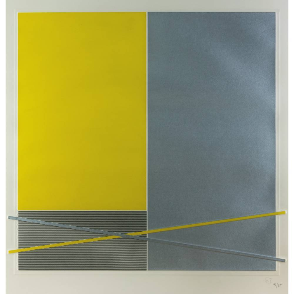 Jesus Rafael Soto-Composition 4-1971