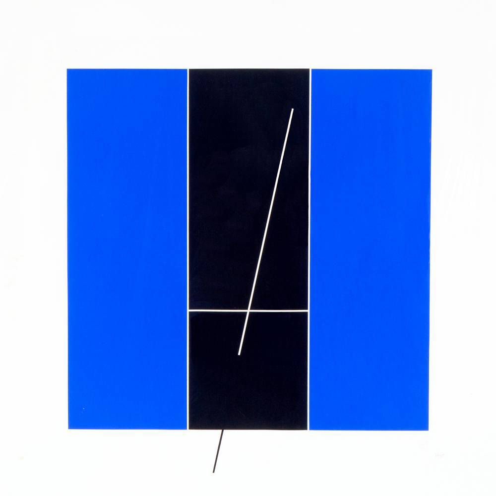 Jesus Rafael Soto-Composition 5-1971