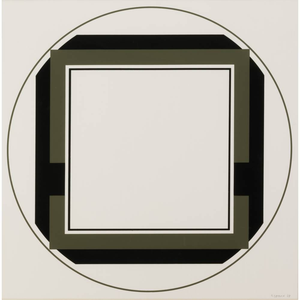 Geometric composition-1978