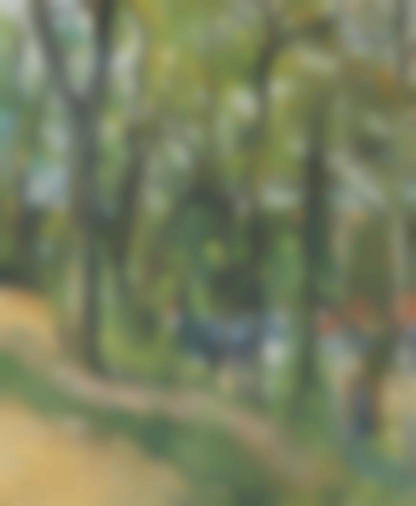 Paul Cezanne-La Cote Saint-Denis A Pontoise-1877