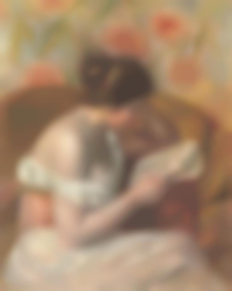 Pierre-Auguste Renoir-Femme Lisant-1891