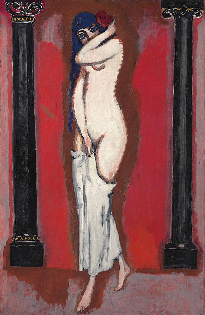 Kees van Dongen-La Femme Aux Colonnes-1911