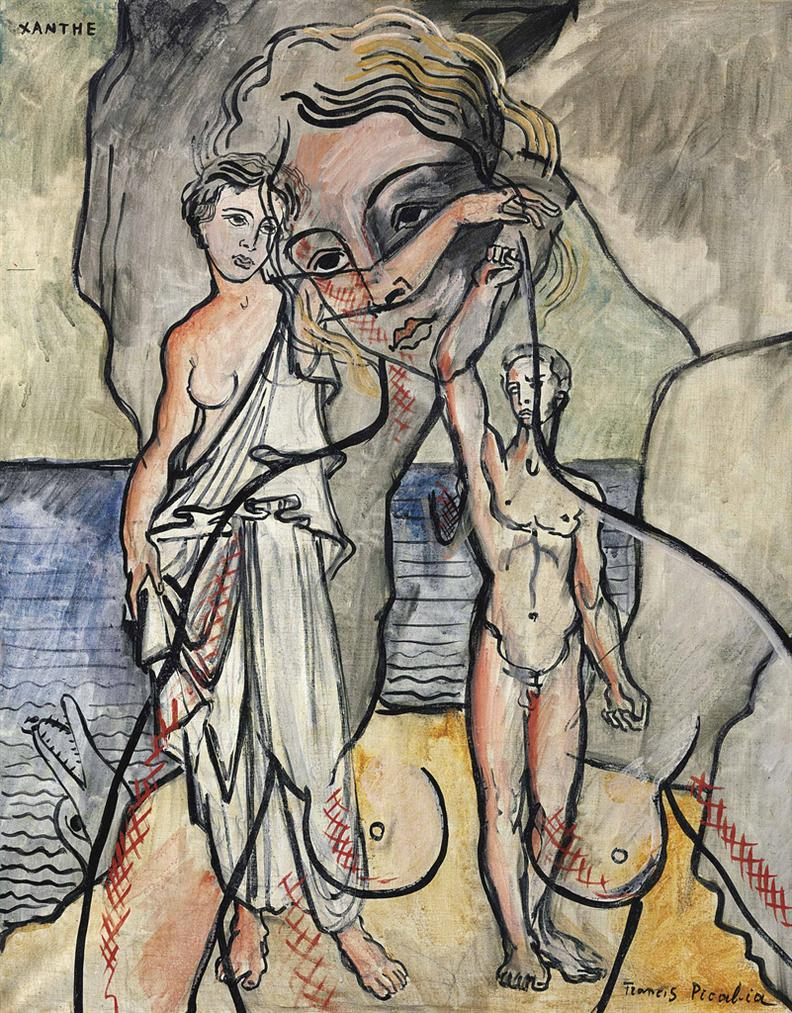Francis Picabia-Xanthe-1929