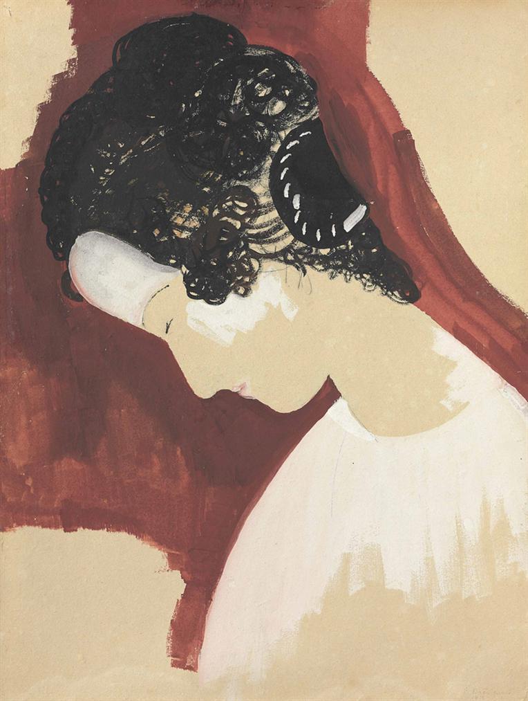 Constantin Brancusi-Portrait De Femme-1912