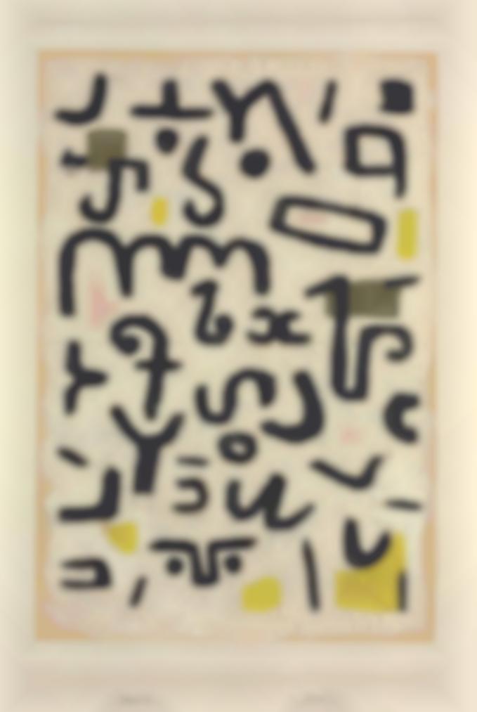 Paul Klee-Gesetz (Law)-1938