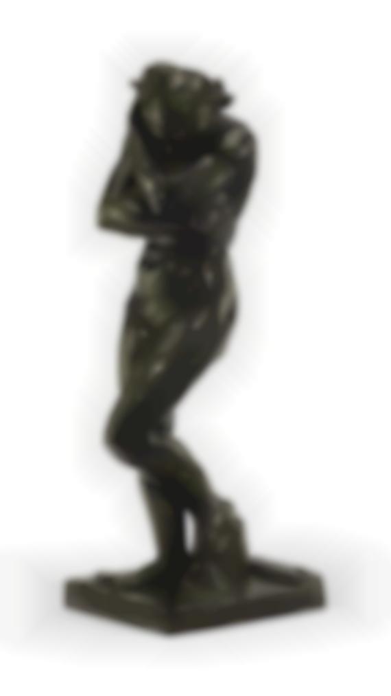 Auguste Rodin-Eve, Petit Modele (Modele A La Base Carree Et Aux Pieds Plats)-1886