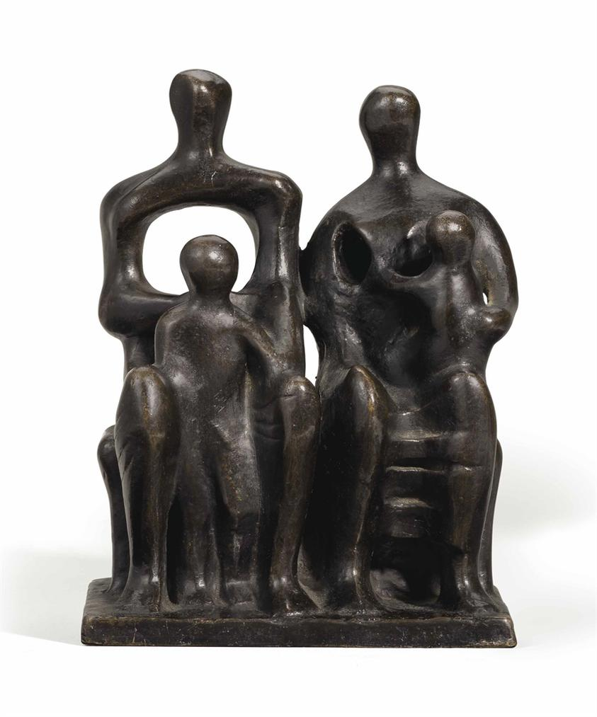 Henry Moore-Family Group-1946