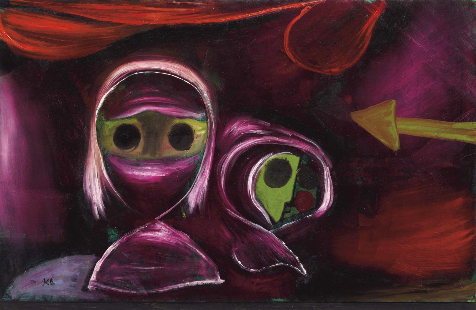 Paul Klee-Schicksal Zweier Schwestern-1922