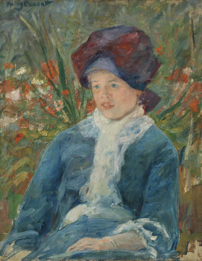 Mary Cassatt-Susan Seated In A Garden-1883