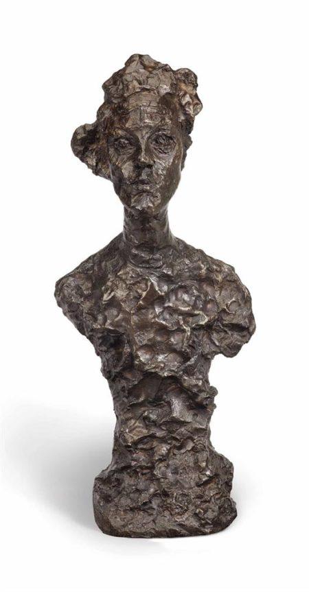 Alberto Giacometti-Buste Dannette VI-1964