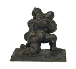 Jacques Lipchitz-Variation On The Theme Of The Last Embrace (Salvataggio) Iv-1972