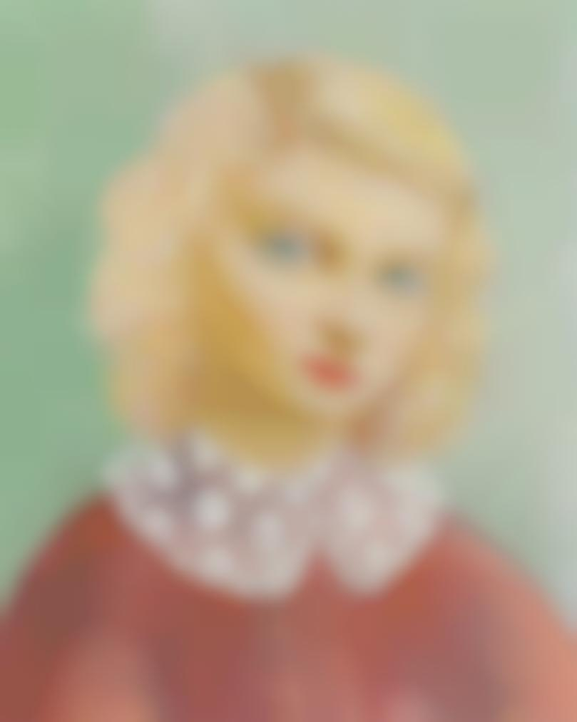Moise Kisling-Portrait A La Collerette-1938