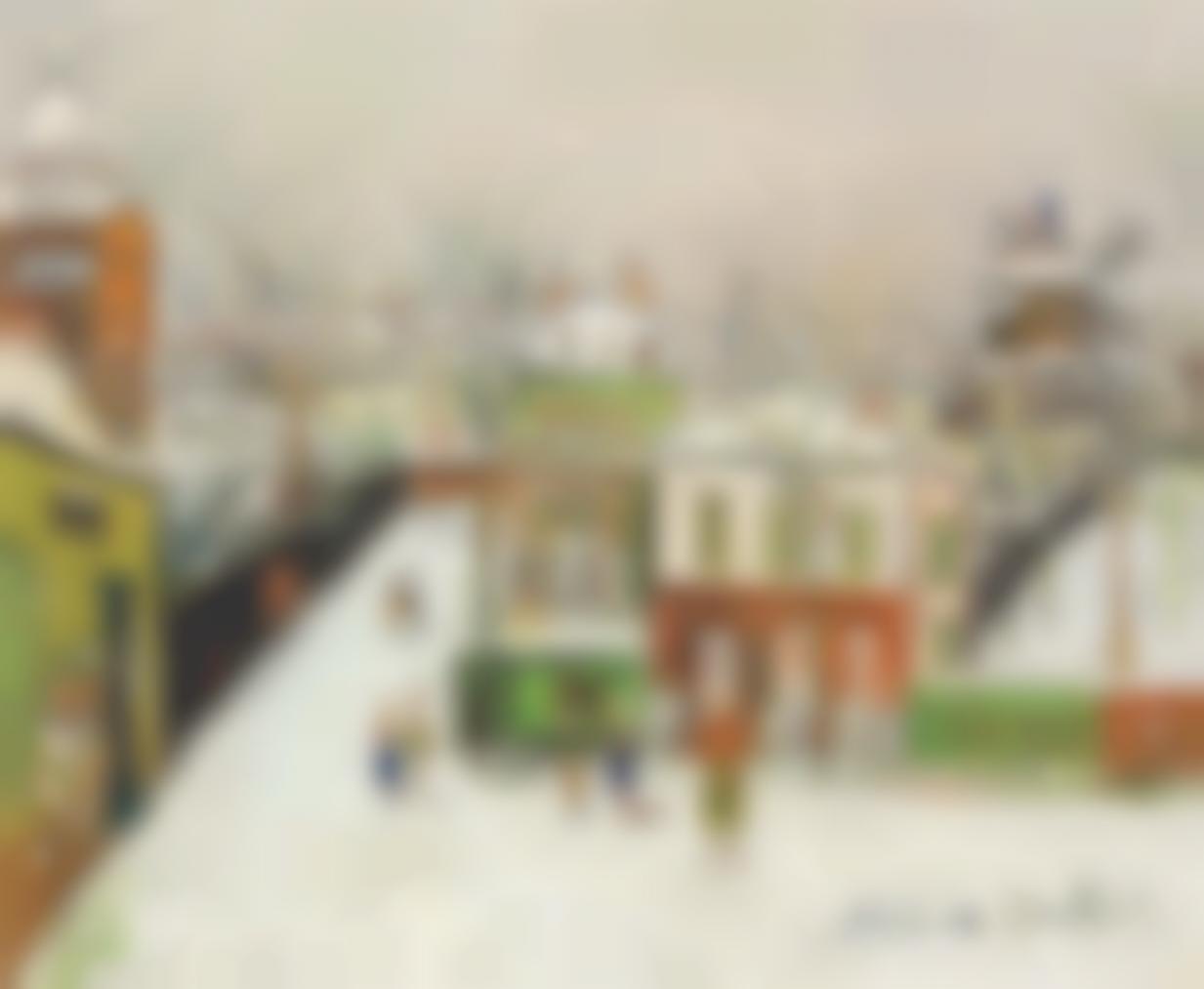 Maurice Utrillo-Maquis Sous La Neige, Montmartre-1950