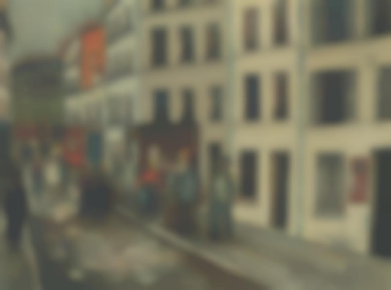 Maurice Utrillo-Le Jour Des Elections Dans Le Xe Arrondissement-1925