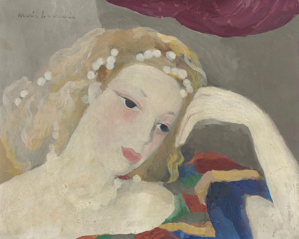 Marie Laurencin-Tete De Femme-1938