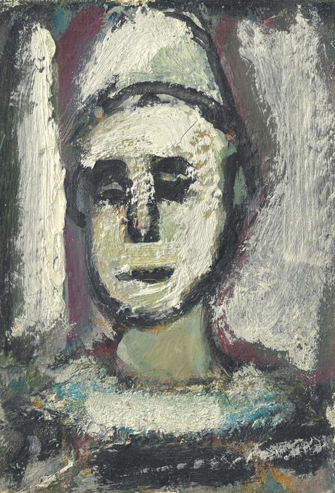 Georges Rouault-Jeune Clown Pensif-