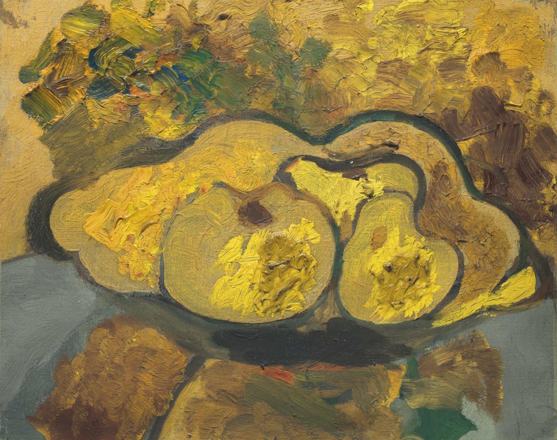 Georges Braque-Nature Morte Au Plat De Pommes-1947