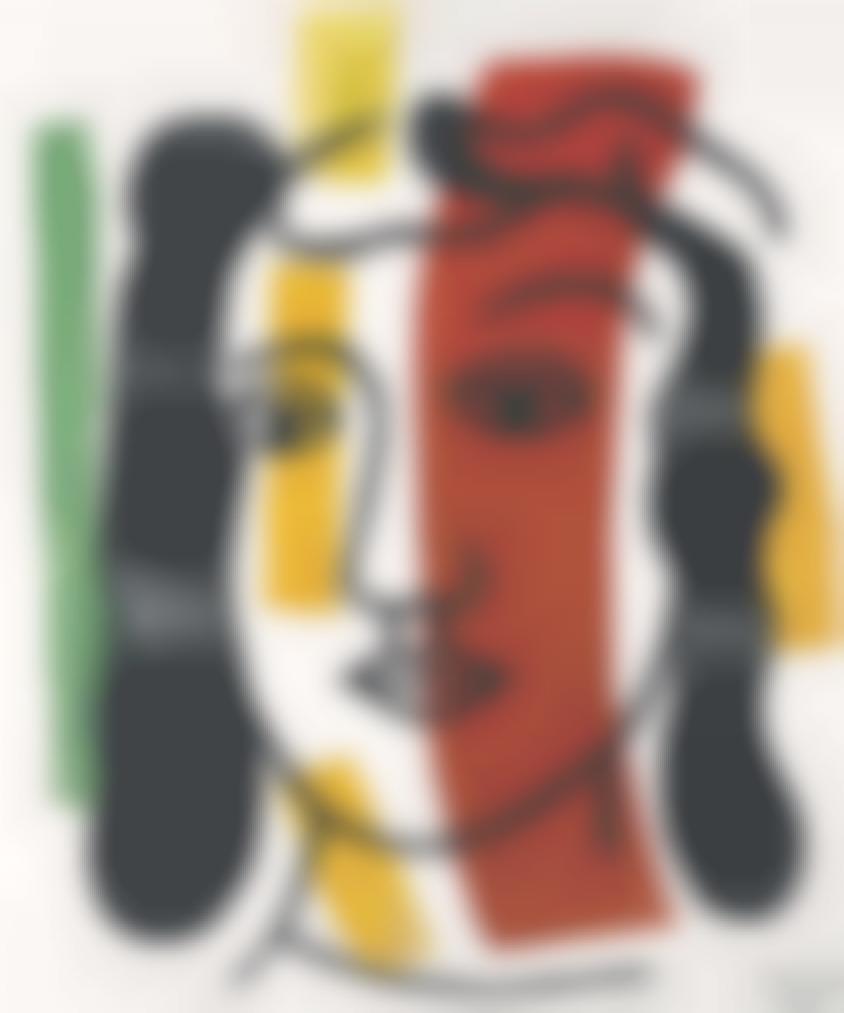 Fernand Leger-Figure-1947