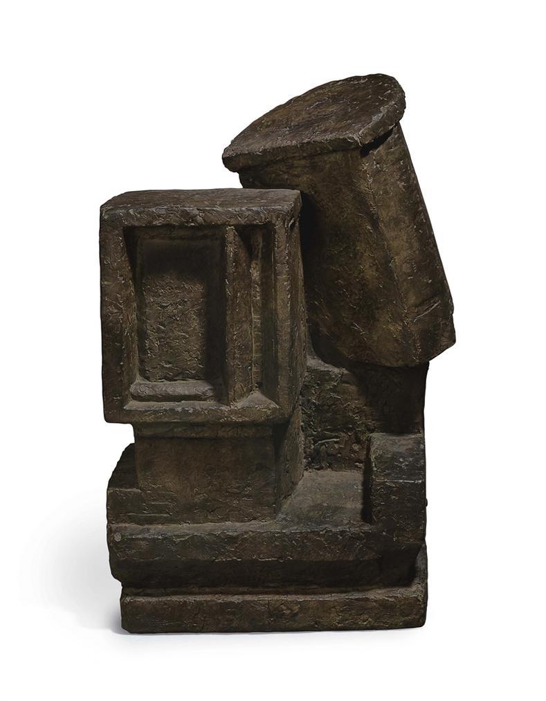 Alberto Giacometti-Couple Cubiste-1927
