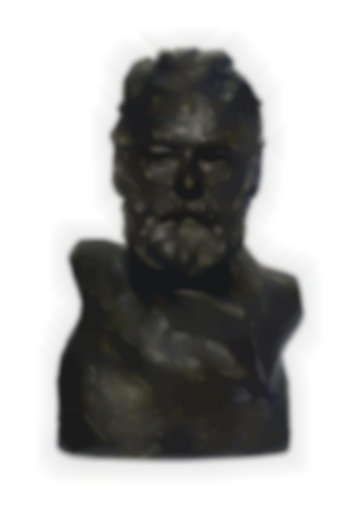 Auguste Rodin-Buste De Victor Hugo Dit, A Lillustre Maitre-1955