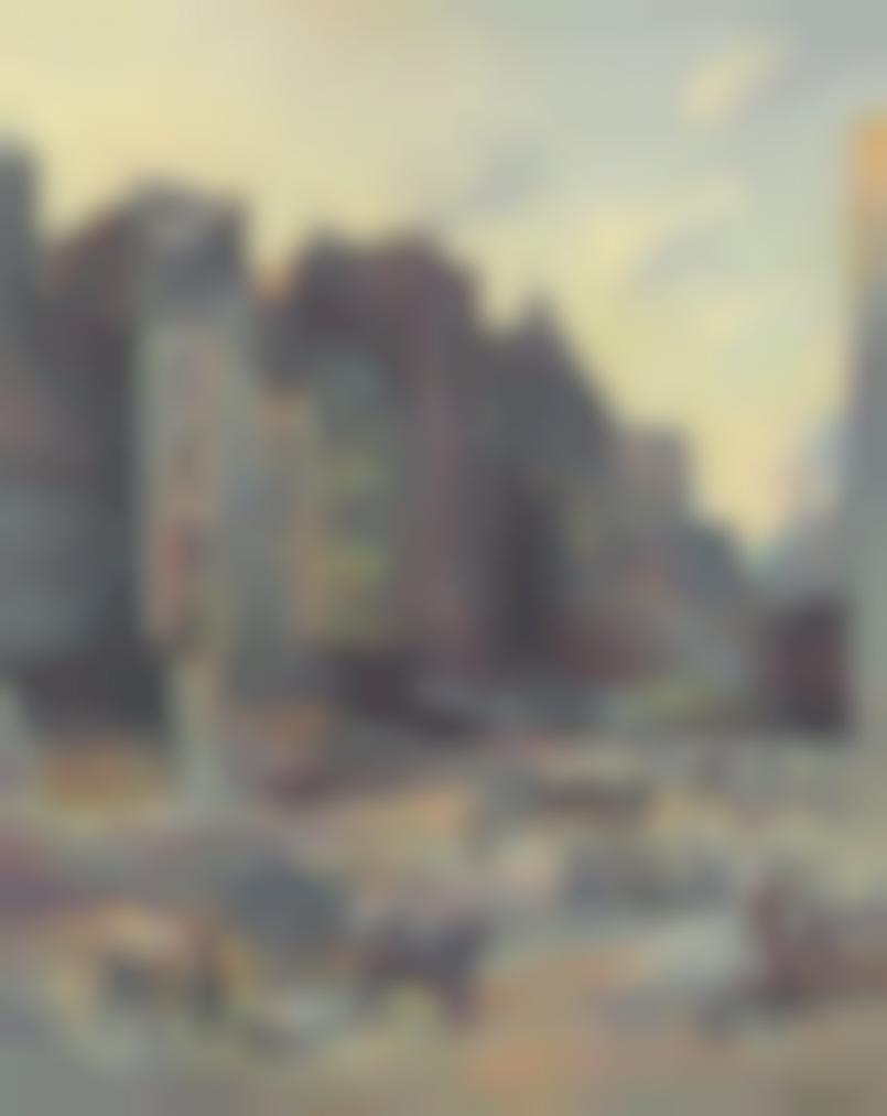 Maximilien Luce-Paris, Demolitions-1896