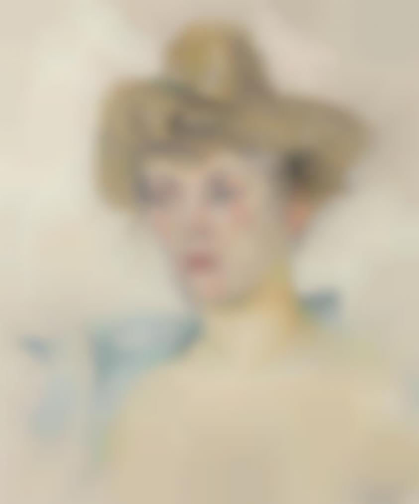 Edouard Vuillard-Modele Blond-1903