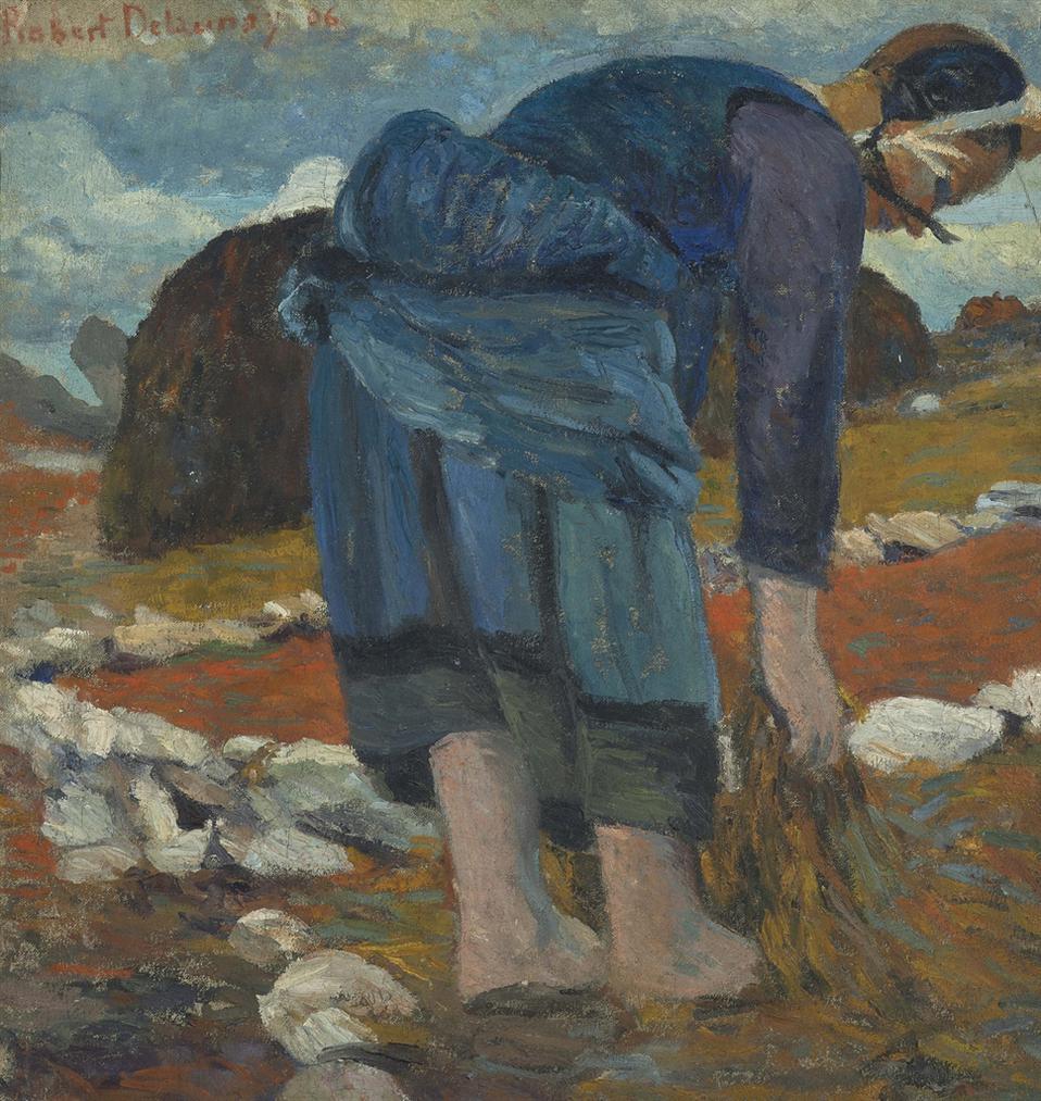 Robert Delaunay-Bretonne, Ecarteuse De Goemon-1906