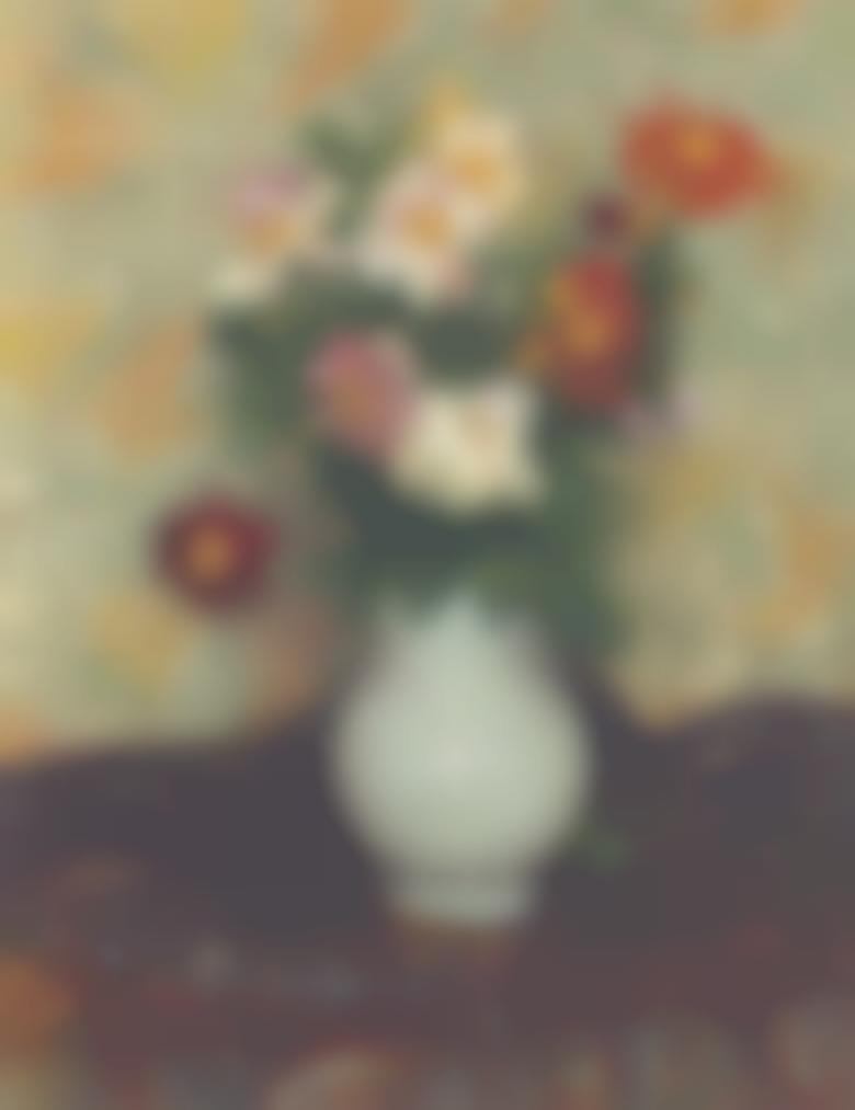 Georges Lemmen-Vase De Fleurs-1901