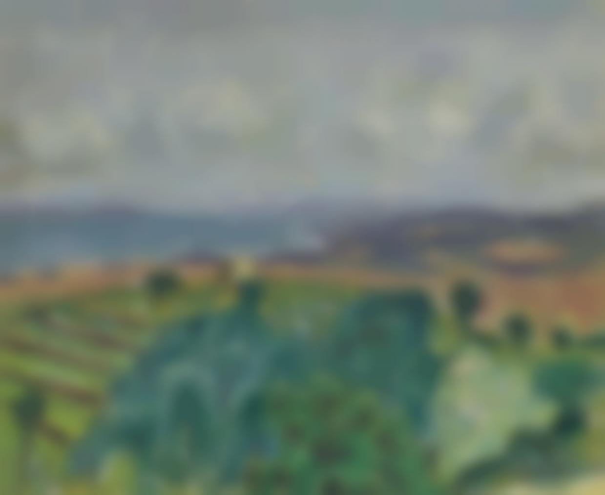 Pierre Bonnard-Bord De Mer Avec Paysage-1912
