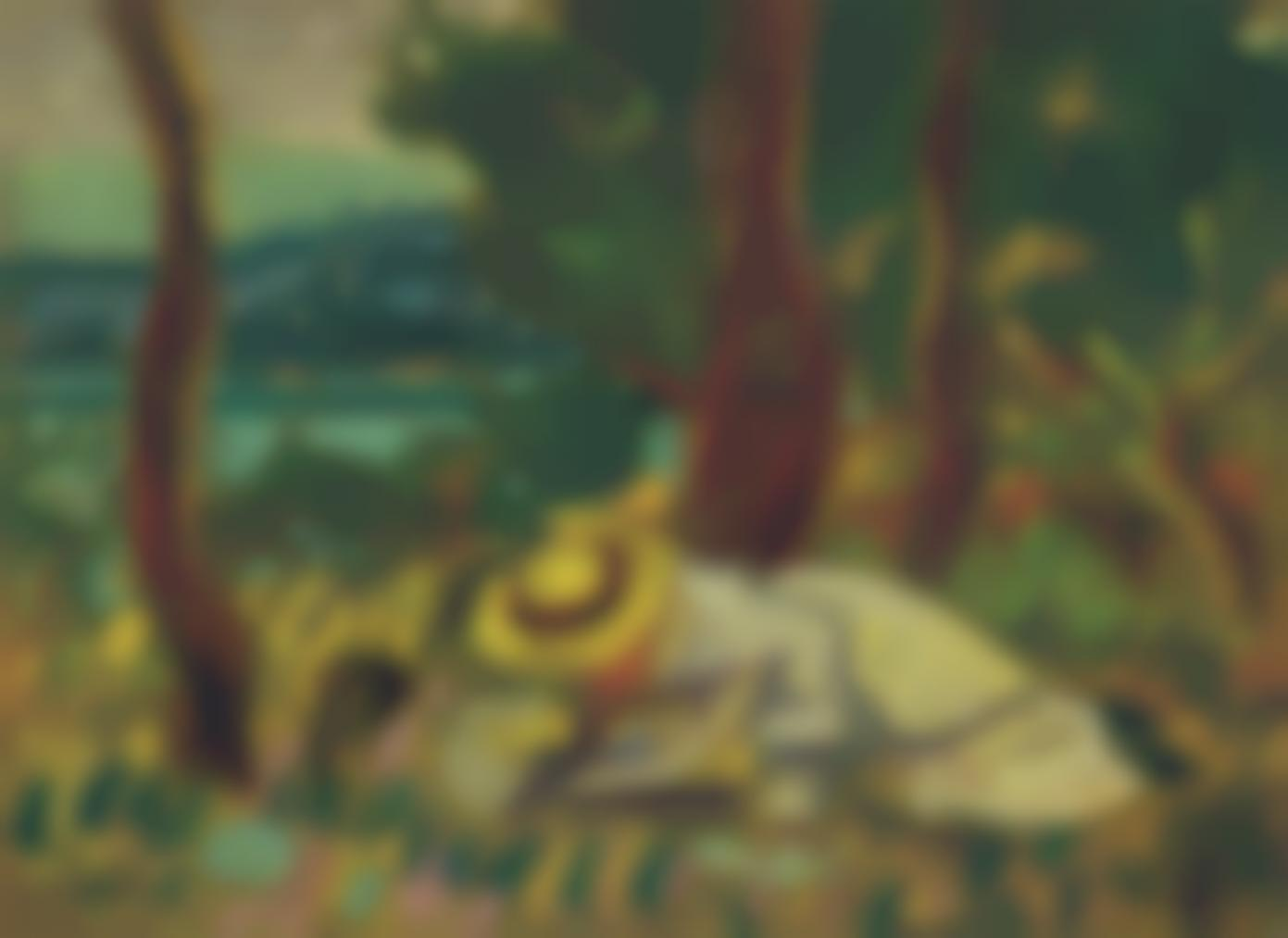 Raoul Dufy-La Sieste-1903