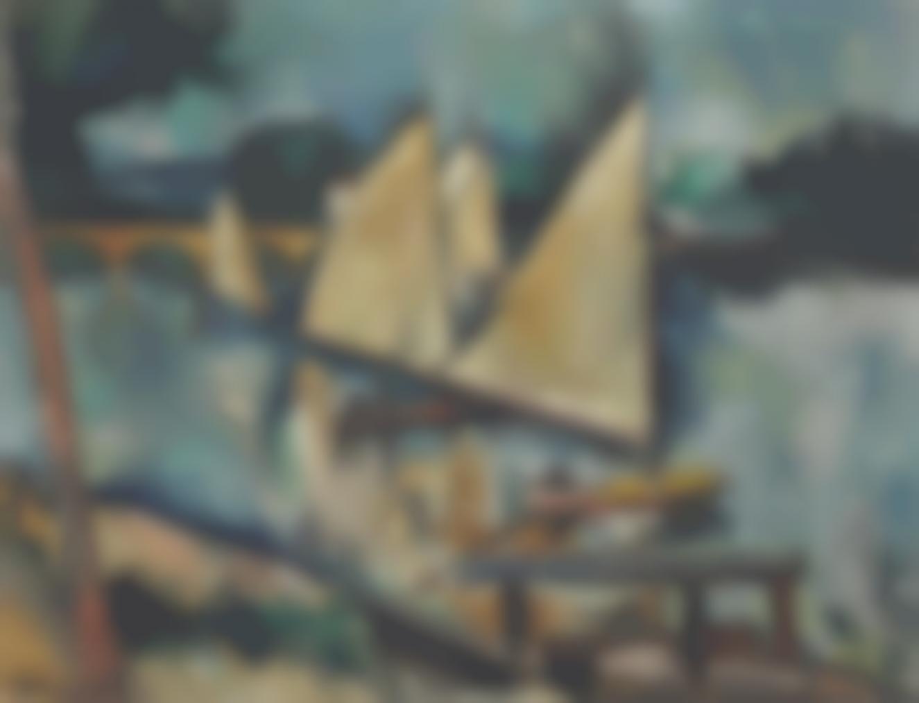 Maurice de Vlaminck-Voiliers-1910