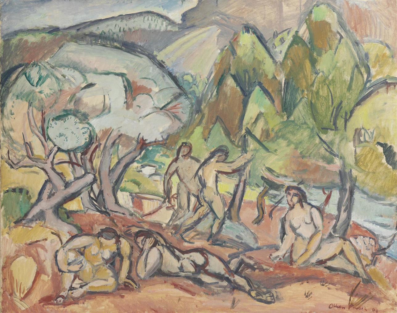 Othon Friesz-Paresse, Cassis-1909