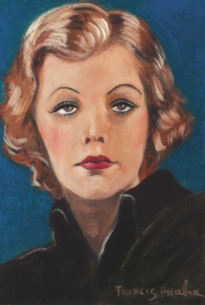 Francis Picabia-Tete De Femme-1942