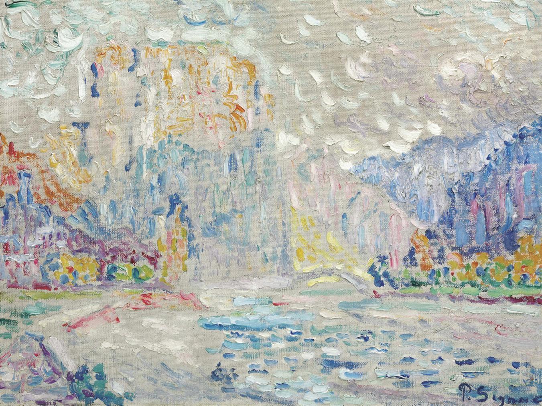 Paul Signac-Etude Pour Castellane-1902