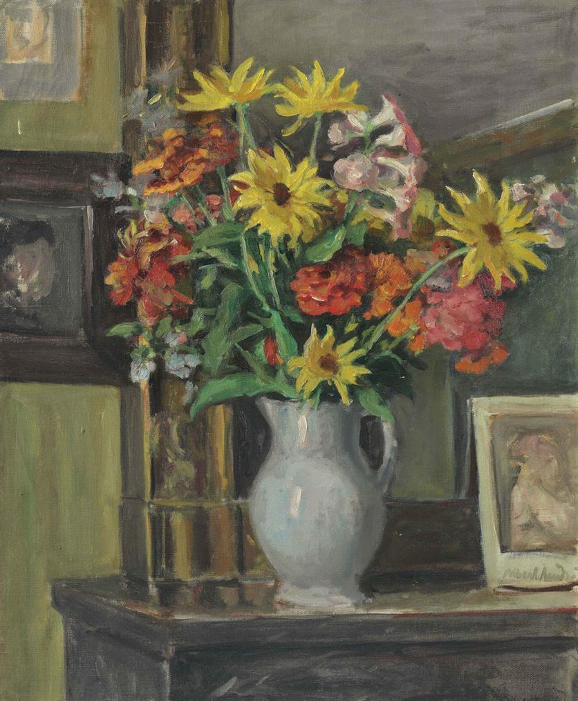 Albert Andre-Vase De Fleurs-1935