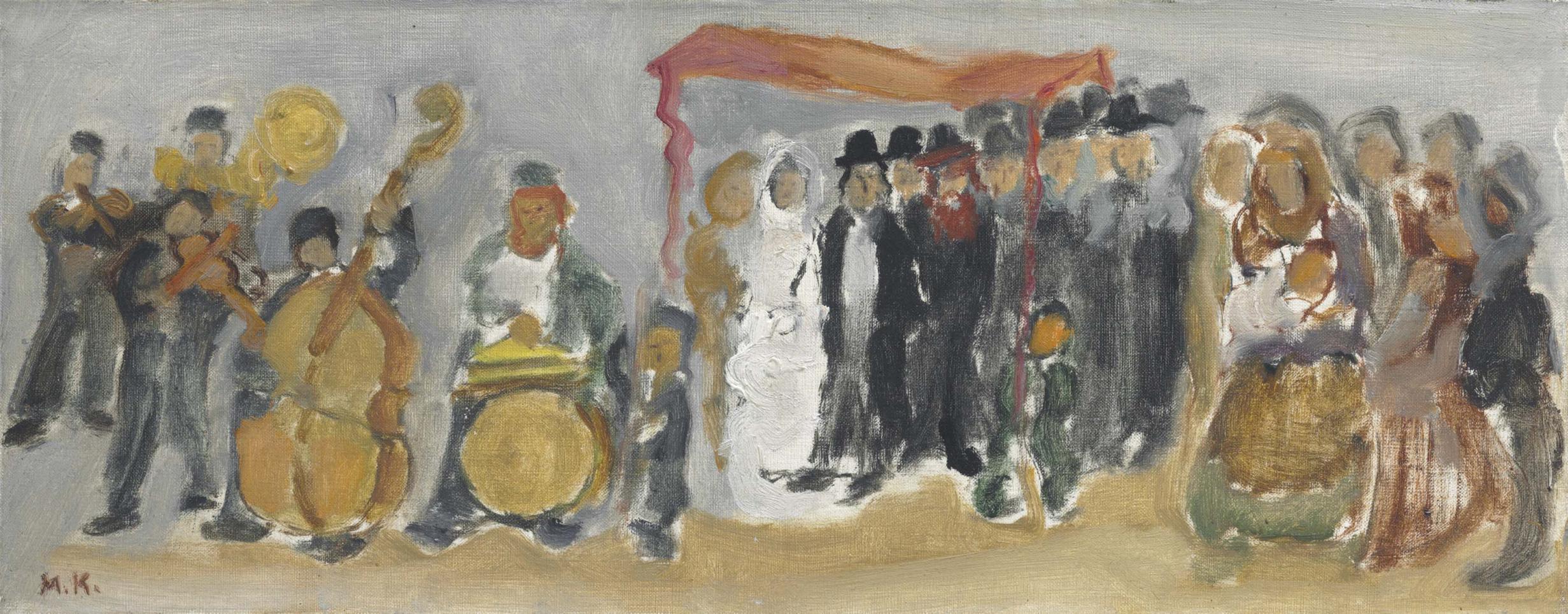 Mane-Katz-Wedding-1959