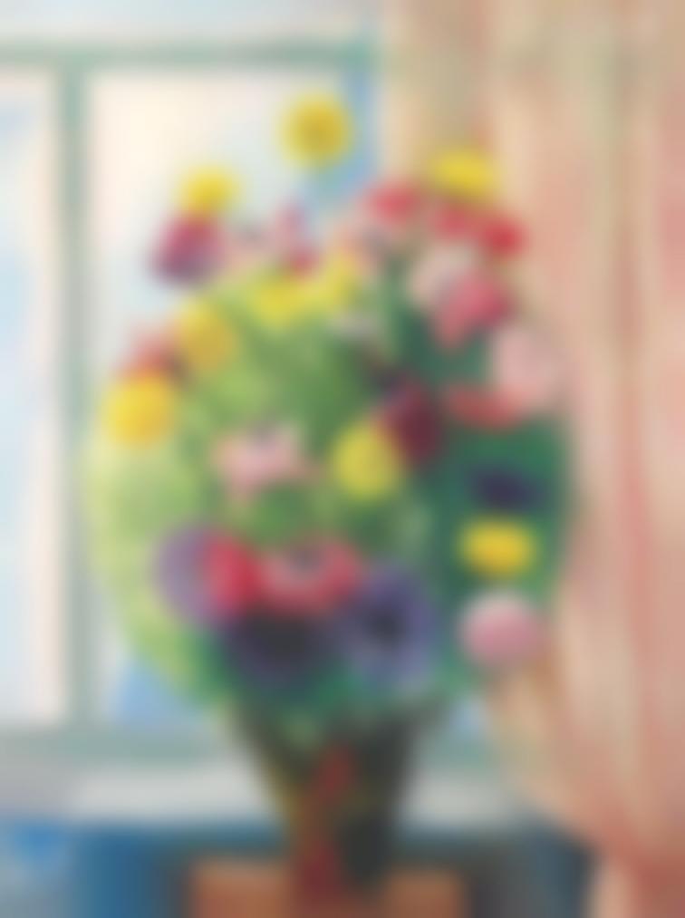 Moise Kisling-Bouquet De Fleurs-1920