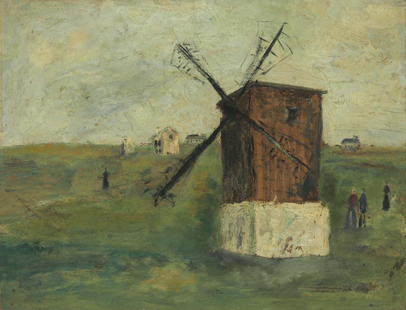 Maurice Utrillo-Le Moulin A L'Ile D'Ouessant (Finistere)-1912