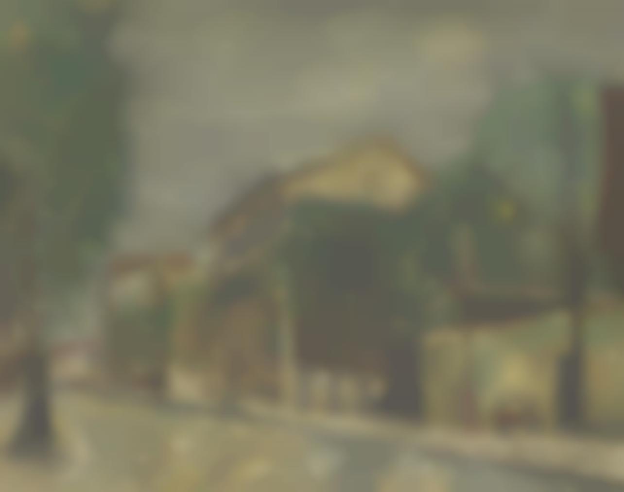 Maurice Utrillo-Rue Sarrette, Petit-Montrouge, Paris-1906