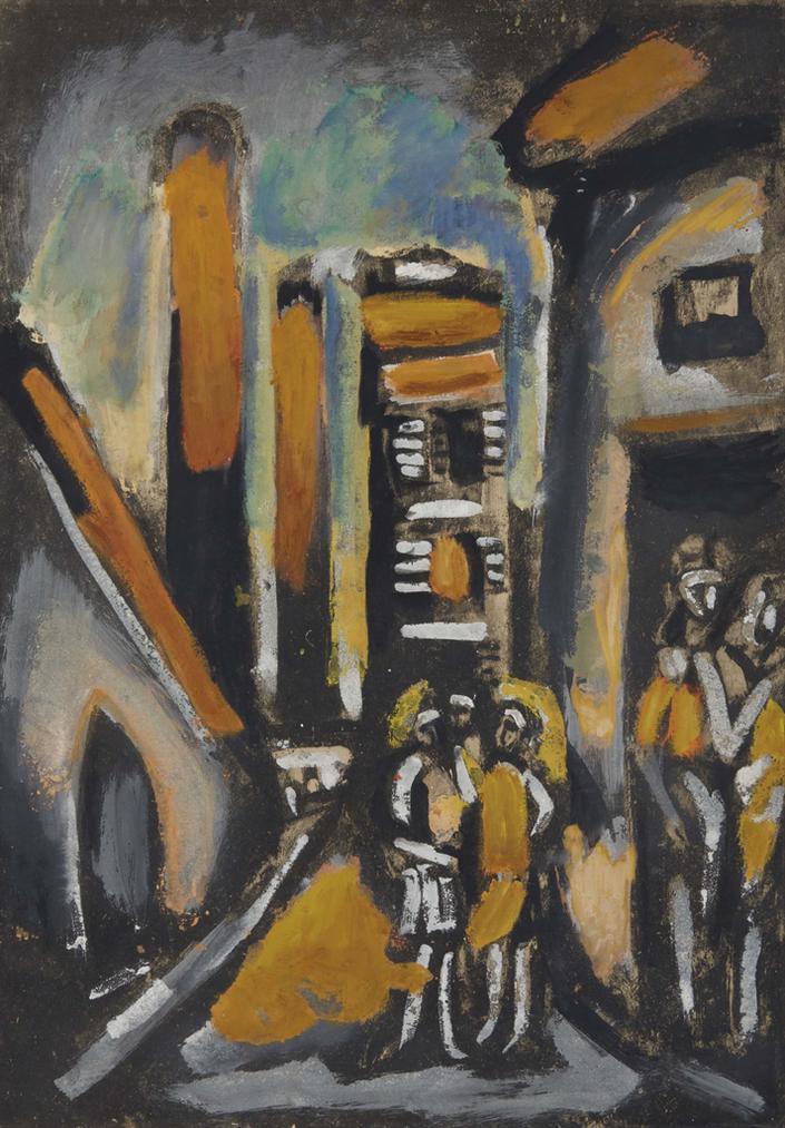 Georges Rouault-Filles Et Usine-1939