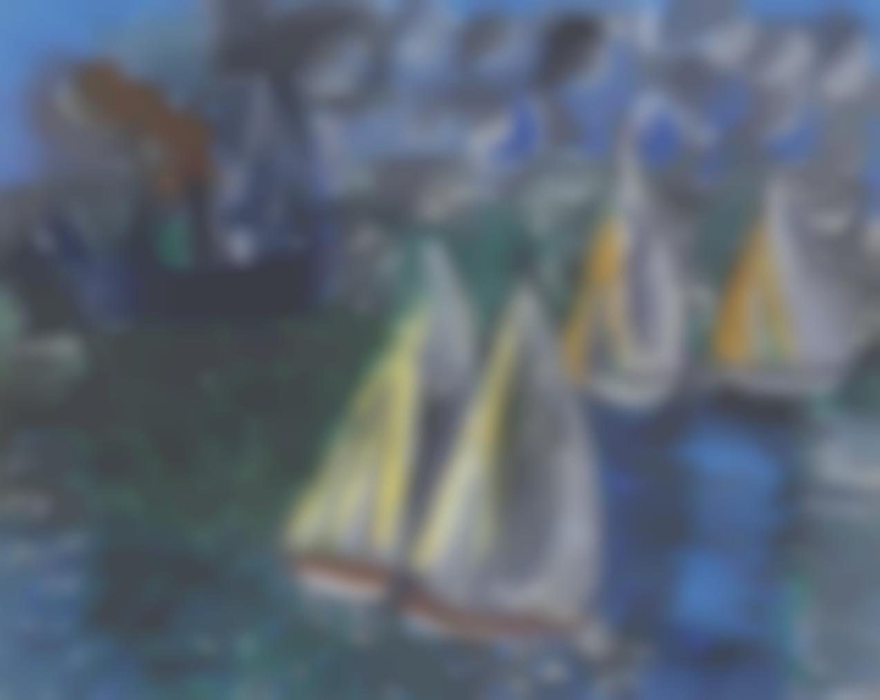 Raoul Dufy-La Regate-1924