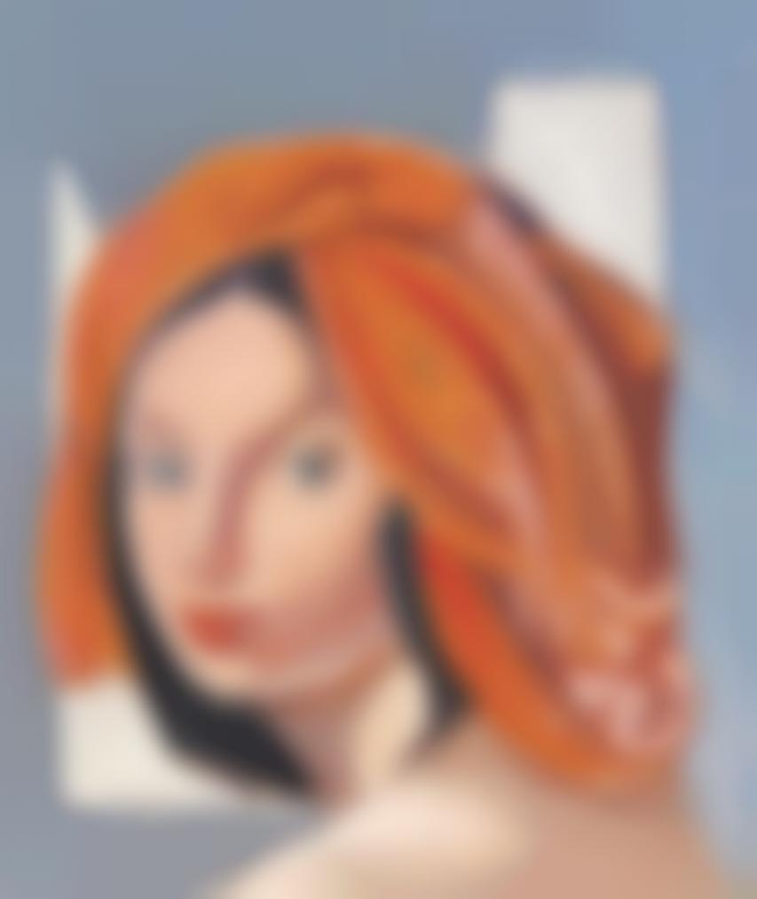 Tamara de Lempicka-Le Turban Orange IX-1979